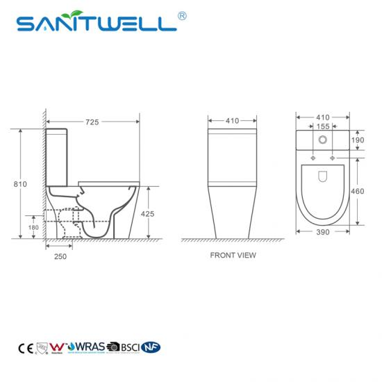 Close Coupled Toilet