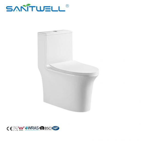 one piece comfort height toilet