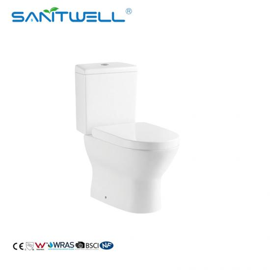 two piece toilet pan