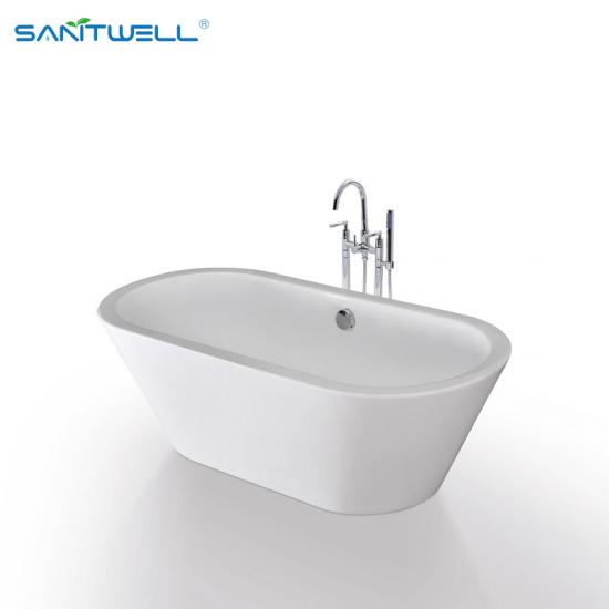 Bathroom frestanding bathtub