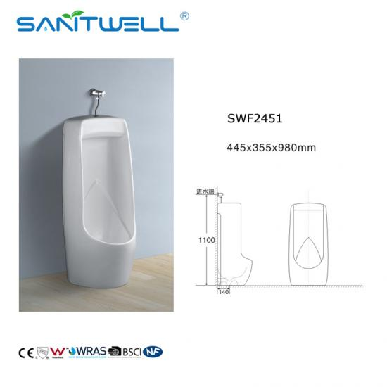 Floor Standing Ceramic Urinal