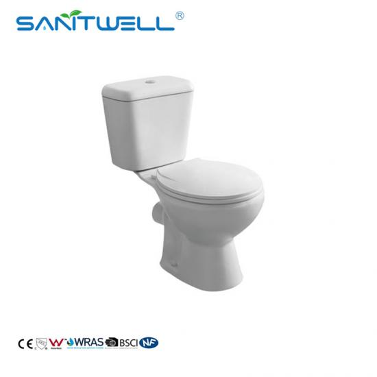 close-coupled wc toilet