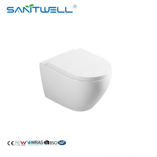 round wall hung pan