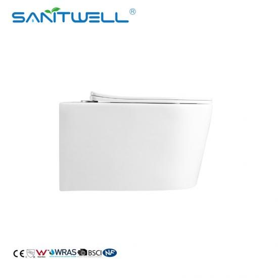 wall hung toilet pan