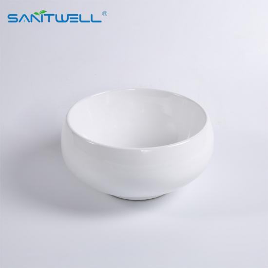 White Bathroom Ceramic Art Basin