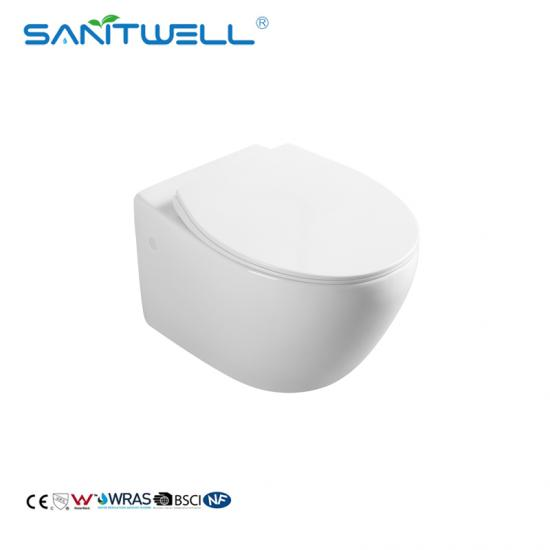 Modern Wall-Mounted Toilet