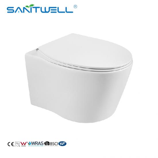Rimless Wall Hung WC Toilet
