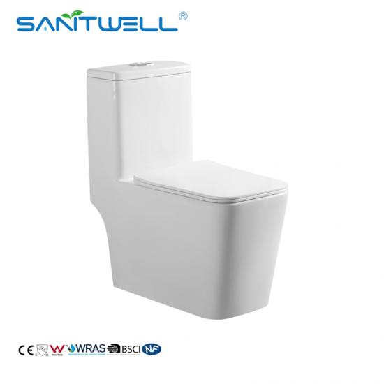 One Piece Water Closet WC Toilets